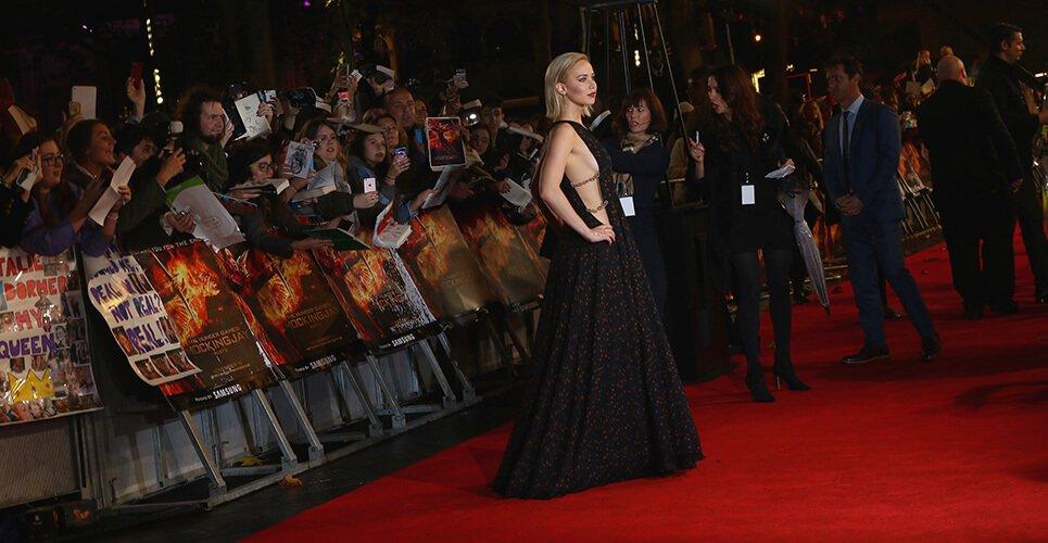 Jennifer Lawrence alfombra roja