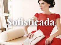 mujer de estilo sofisticado
