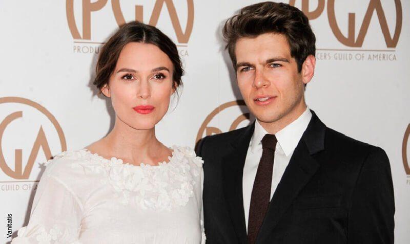 Keira Knightley y su esposo