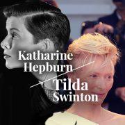 Katharine Hepburn / Tilda Swinton