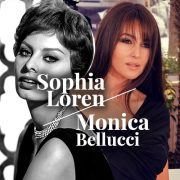 Sophia Loren / Monica Bellucci