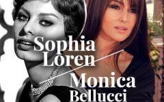 estilo sophia loren monica bellucci