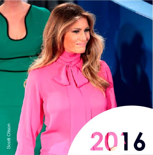 melania trump usa first lady style evolution evolucion estilo primera dama