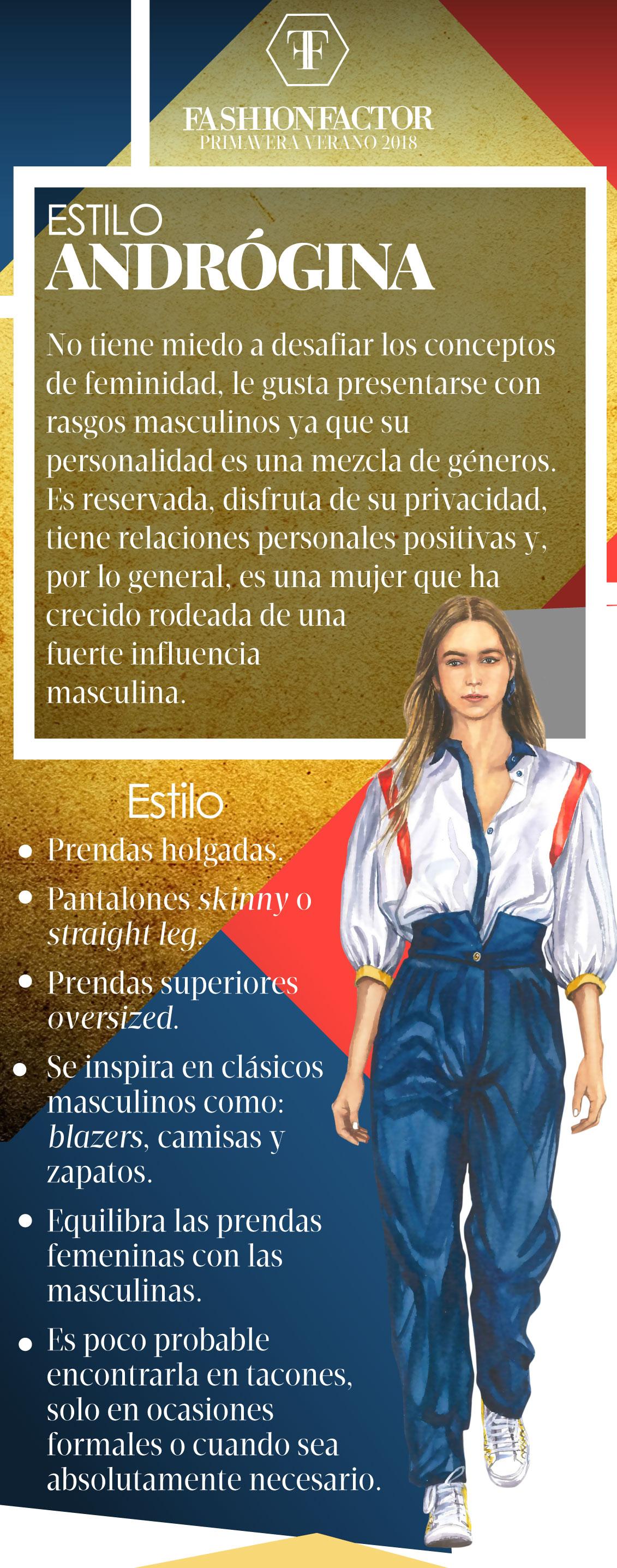 Fashion Estilo Factor Identifica Tu Andrógina Revista tdCQrhsx